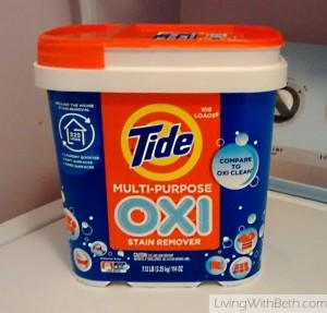 Tide Oxi vs Oxiclean: Laundry booster & household cleaner smackdown