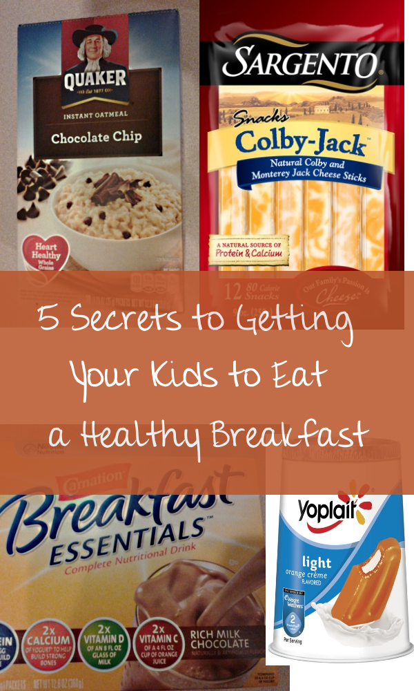 5 Secrets to Getting a Healthy Breakfast Into Your Kids