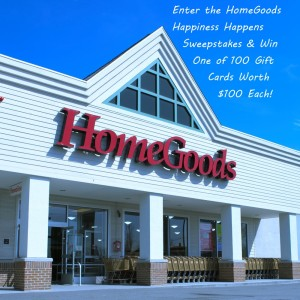 HomeGoods Happiness Sweepstakes