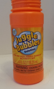 homemade Juggle Bubbles solution