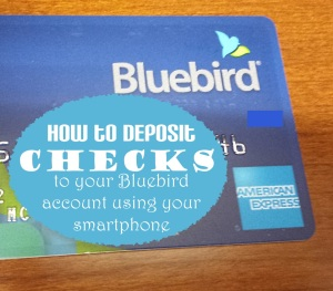 How to make a Bluebird check deposit using your smartphone