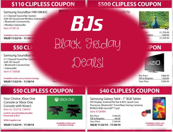 bjs black friday deals