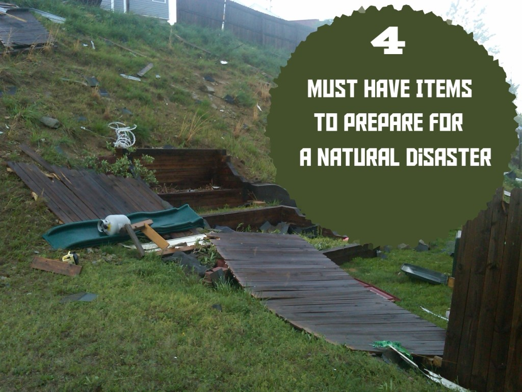 Emergency essentials: 4 must haves to prepare for blizzards, hurricanes, earthquakes, tornadoes