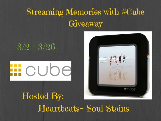 Streaming-Memories-with-Cube-Giveaway