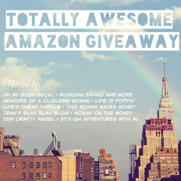 Totally Awesome Amazon Giveaway: Win a $500 gift card ends 6/1