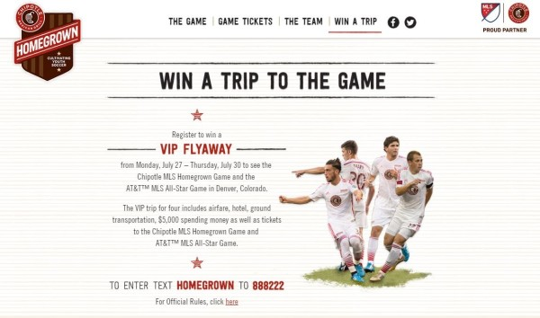 Giveaway: Win a free trip to the MLS All-Star Week from Chipotle #MLSAllStar