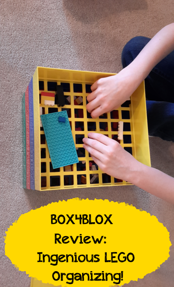 BOX4BLOX review: Works just like a coin sorter for LEGO blocks!