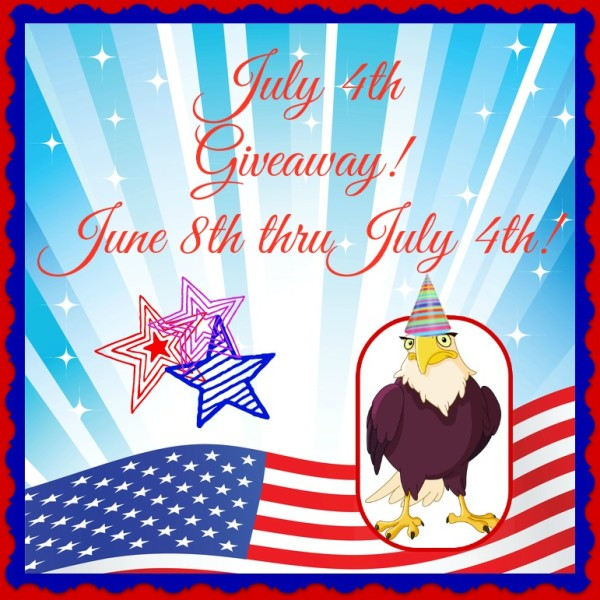 July 4th blog giveaway ends 7/4 @las930