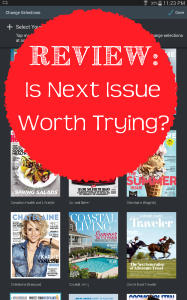 Magazines galore, but is Next Issue worth it?