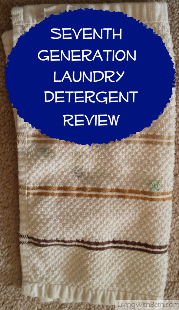 Seventh Generation #laundry detergent #review: Thumbs way down