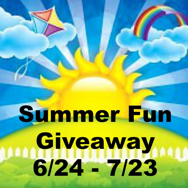 Summer Fun Giveaway ends 7/23