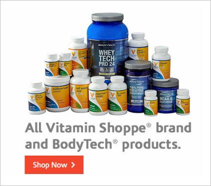 Save 25% off with this Vitamin Shoppe coupon code