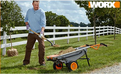 WORX Giveaway: Win an Aerocart all-purpose yard cart ends 7/31 @worxtools