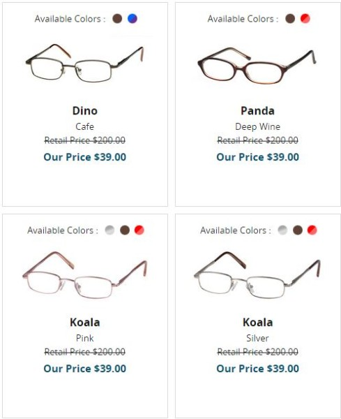 Find cheap glasses & contacts for the whole family