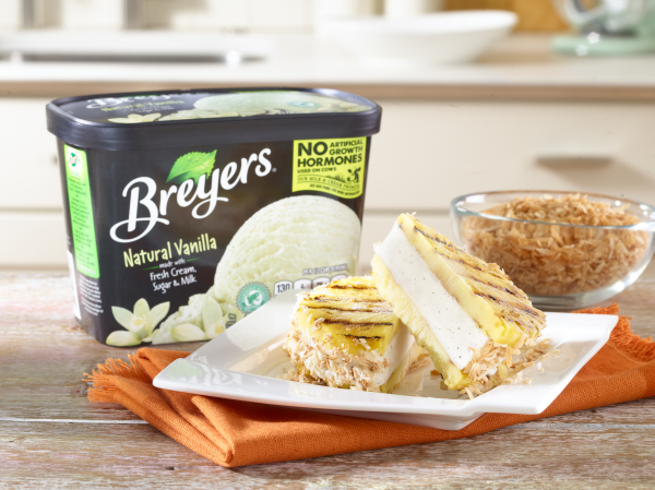 Breyers Ice Cream Tropical Ice Cream Sandwich Recipe