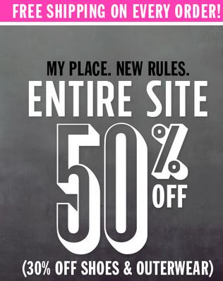 The Children's Place coupon code not needed to save 30-50% sitewide!
