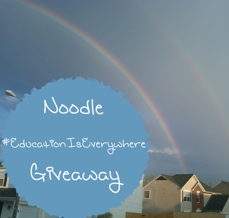 Noodle #EducationIsEverywhere Giveaway with $500 in prizes ends 7/28