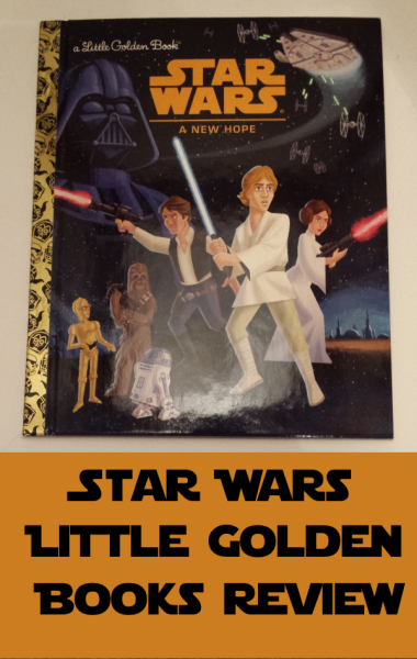 Star Wars Movies Come to Little Golden Books