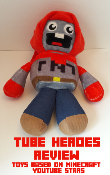 Tube Heroes Bring Excitement to Minecraft Tie-In Toys