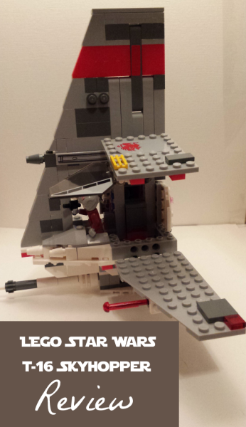 LEGO Star Wars T-16 Skyhopper 75081 Review