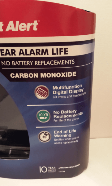 First Alert Carbon Monoxide Detector Review: 10-Year Battery Life