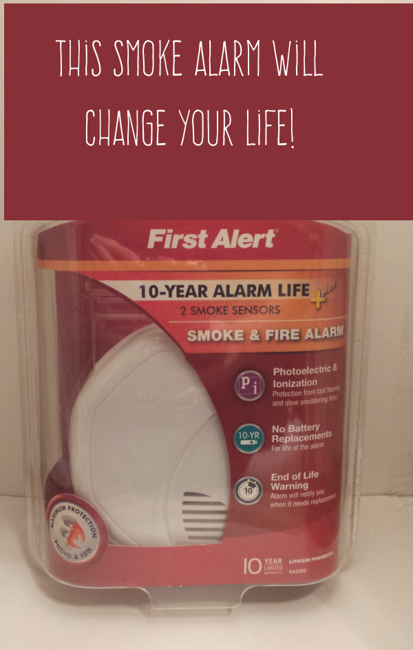 First Alert Smoke Detector Review: 10-Year Battery Life