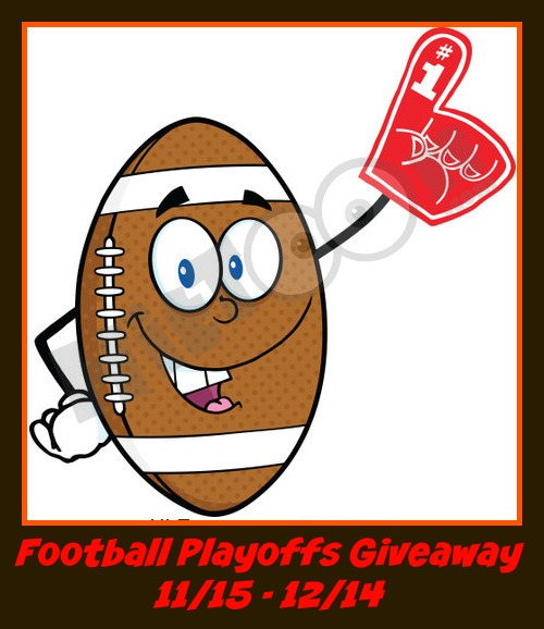 Football Playoffs Blog Giveaway Ends 12/14