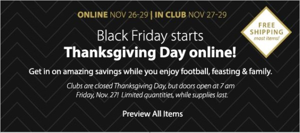 Sam's Club Black Friday Ads 2015