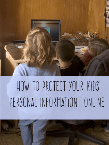 How to Protect Your Kids' Privacy Online