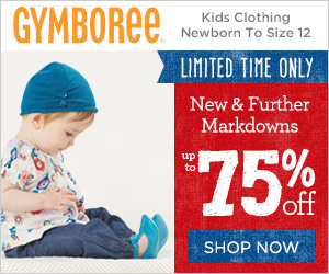 Free Shipping at Gymboree + Save Up to 75% Off!