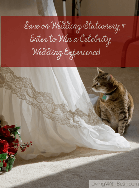 Save on Wedding Paper & Win a Celebrity Wedding Experience!