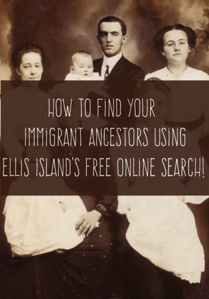 How to Find Ancestors Who Came to the U.S. Through Ellis Island
