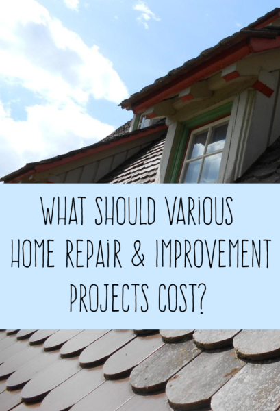 What Should Various Home Improvement and Repair Projects Cost? [#Infographic]