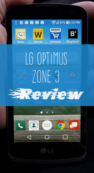 LG Optimus Zone 3 Offers Excellent Prepaid Smartphone on the Cheap