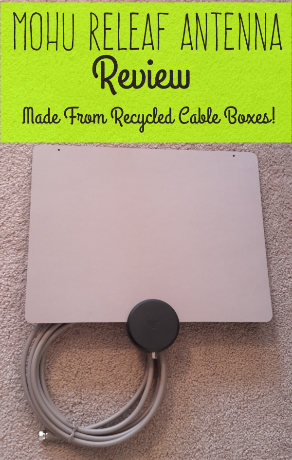 Mohu ReLeaf Antenna: Made From Recycled Cable TV Boxes