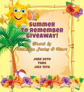 Summer to Remember Giveaway, 4 Winners, Ends 7/15
