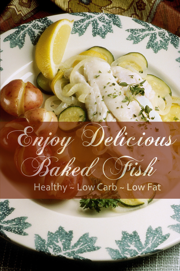 Elegant Baked Fish Recipe With Sea Salt and Dill