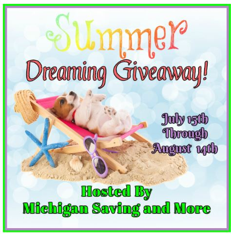 Summer Dreaming Giveaway Ends 8/14