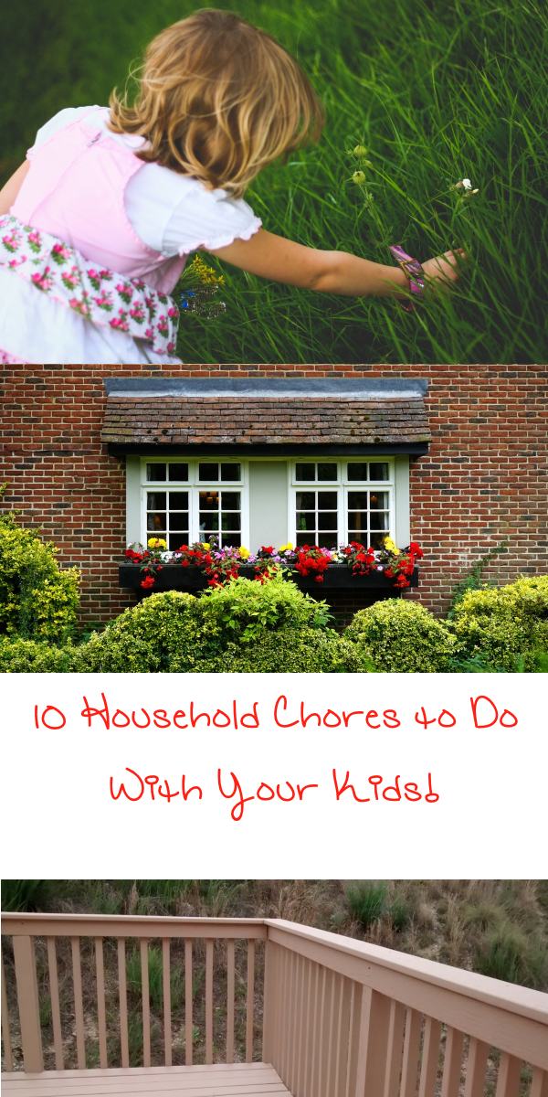 Household Chores You Can Do With the Kids