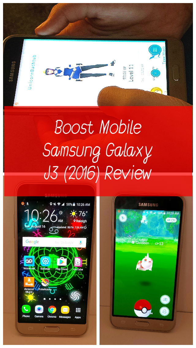 Boost Mobile Samsung Galaxy J3 Review
