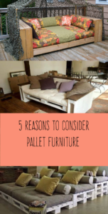 5 Reasons to Consider Pallet Furniture