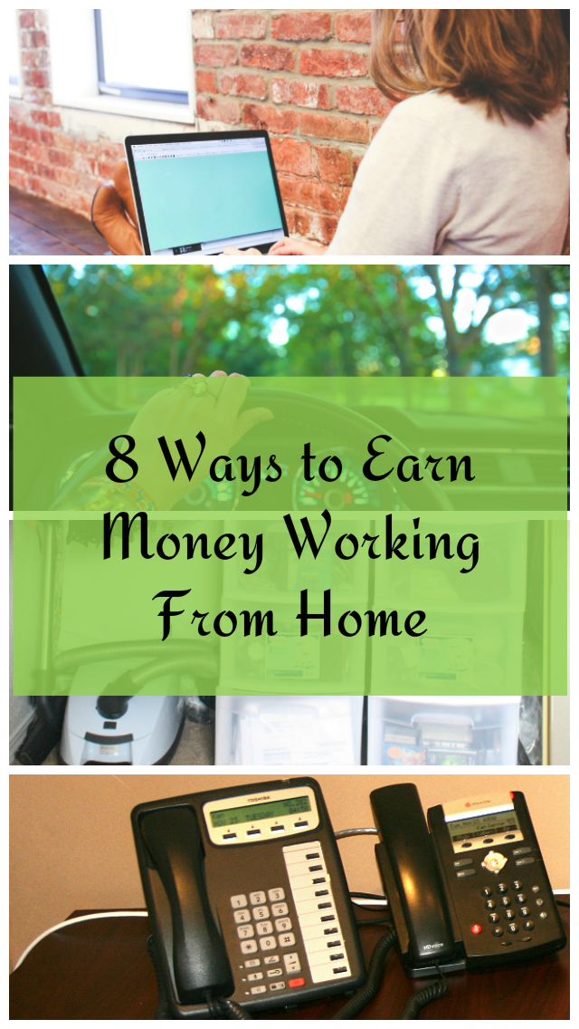 8 Work at Home Options for the Busy Mom