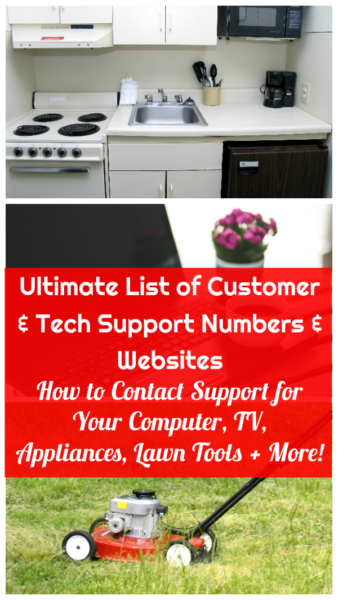Ultimate List of Company Support Phone Numbers and Websites