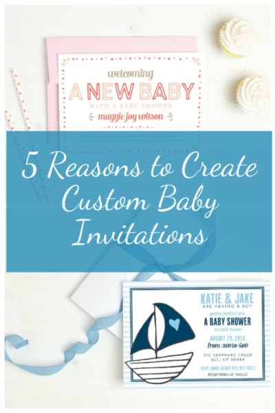 5 Reasons to Create Custom Baby Shower Invites