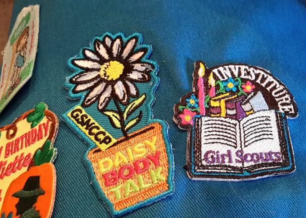 How to Attach Girl Scouts Patches