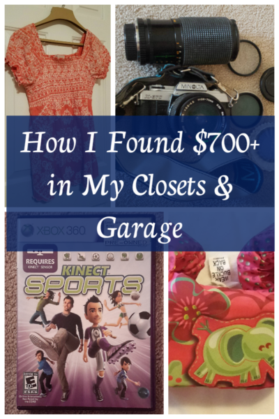 Sell Your Stuff: How I Found $700+ In My Closets and Garage