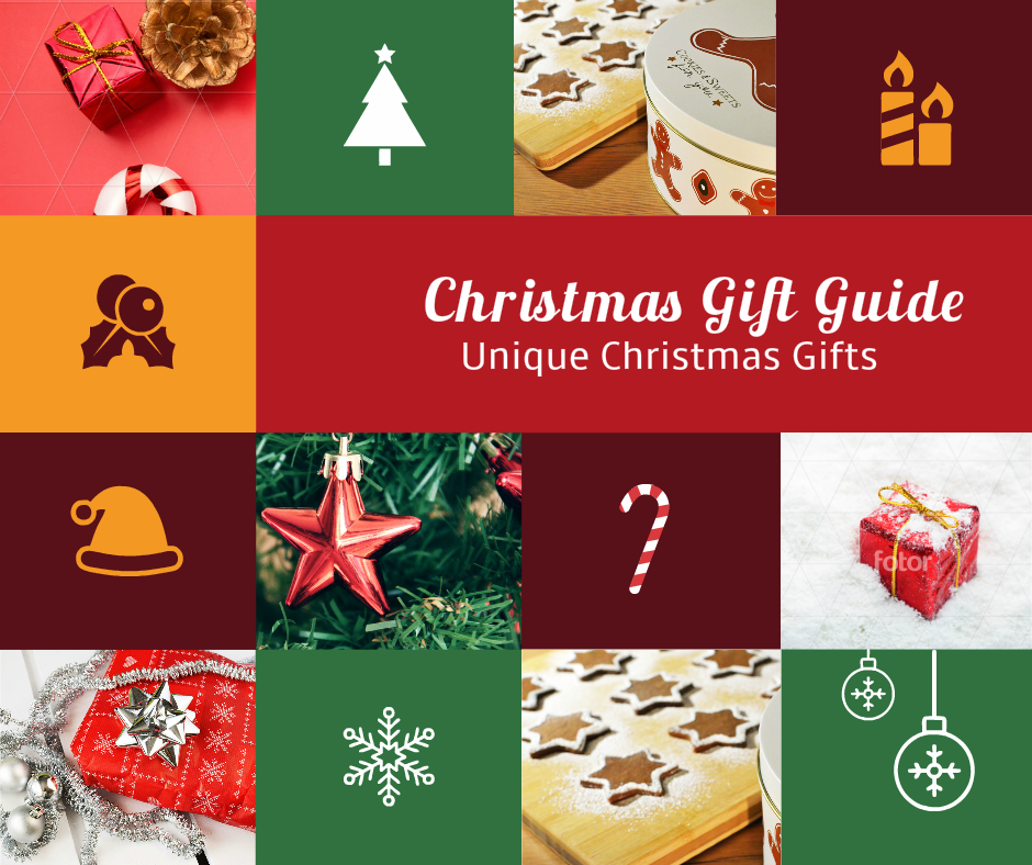 Unique Gift Ideas For Christmas: Christmas Gift Guide: Unique Gift Ideas