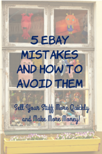 Have you had trouble selling your stuff on eBay (or online in general)? These tips will help you avoid the common pitfalls when selling online.