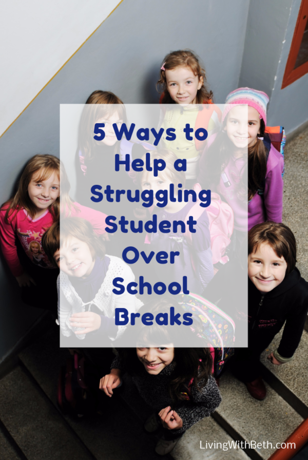 Is your kid struggling in school? Here are 5 ways to take advantage of school break and help your child improve his/her grades.