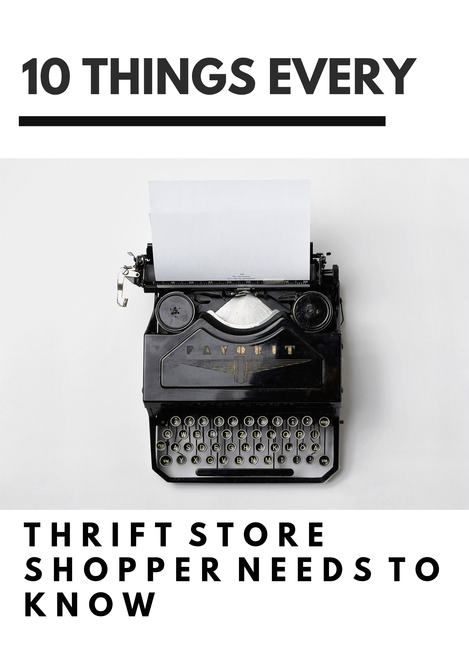10 things every thrift store shopper needs to know for 10 things every living room needs